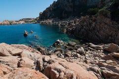 Isola Italia di Costa Paradiso Sardinia fotografia stock libera da diritti
