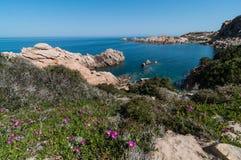 Isola Italia di Costa Paradiso Sardinia fotografie stock libere da diritti