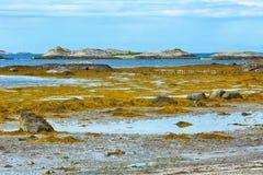 Isola Joea Jøa in Norvegia Immagine Stock Libera da Diritti