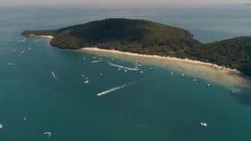 Isola KO-HE in Tailandia, sparante da un quadrocopter fotografie stock