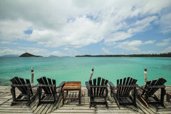 Isola Koh Mak Trat Thailand di Mak immagine stock