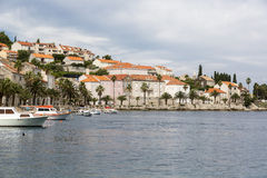 Isola Korcula, Croatia Fotografia Stock