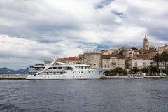 Isola Korcula, Croatia Fotografie Stock