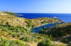 Isola Lastovo, Croazia Fotografia Stock