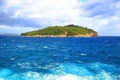 Isola Lokrum, Croazia Fotografia Stock