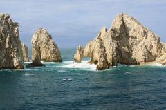 Isola Los Cabos degli amanti Immagini Stock