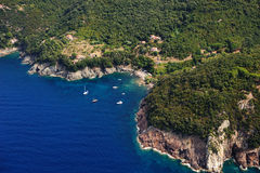 Isola losu angeles Cala plaża Zdjęcie Royalty Free