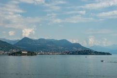 Isola Madre, один из 3 основных островов Borromean на озере Maggiore стоковые фотографии rf
