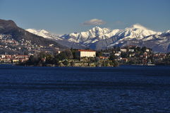 Isola Madre, Lake (Lago) Maggiore in Winter, Italy Royalty Free Stock Images