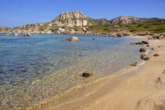 Isola Magdalena, Cerdeña, Italia Fotos de archivo