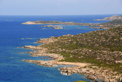 Isola Magdalena, Cerdeña, Italia Foto de archivo