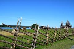 Isola magica di Kizhi Fotografia Stock