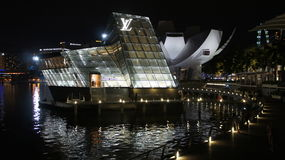 Isola Maison, Singapore di Louis Vuitton Immagini Stock Libere da Diritti