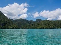 Isola malese fotografia stock