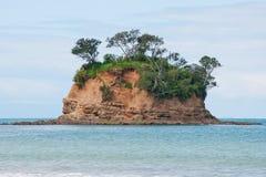 Isola in mare Fotografie Stock Libere da Diritti