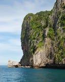 Isola in mare. Fotografia Stock