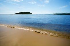 Isola in mare del Giappone Fotografia Stock Libera da Diritti