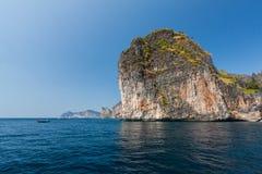 Isola in mare il mare delle Andamane Fotografie Stock
