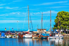 Isola marina, Slovenia Stock Images