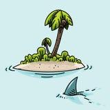 Isola molto piccola Immagini Stock Libere da Diritti