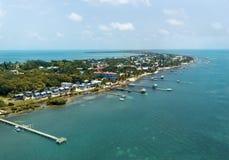 Isola nei Caraibi Fotografia Stock Libera da Diritti