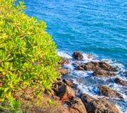 Isola nel mare di Andaman Fotografia Stock