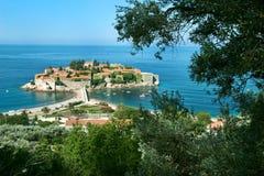 Isola nel Mediterraneo Immagini Stock