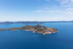 Isola nelle Pentecosti, Australia fotografie stock libere da diritti