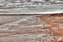 Isola nera Fotografia Stock Libera da Diritti
