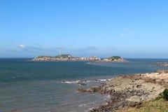Isola non sviluppata in Cina sudorientale Fotografia Stock Libera da Diritti