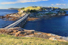 Isola nuda, baia Sydney di botanica Fotografia Stock Libera da Diritti