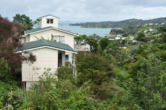 Isola Nuova Zelanda di Waiheke Fotografia Stock Libera da Diritti