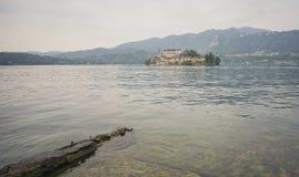 Isola Orta San Giulio immagini stock