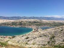 Isola PAG Fotografie Stock Libere da Diritti