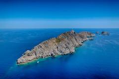 Isola Palagruza 2 Fotografia Stock Libera da Diritti