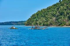 Isola Palawan Filippine di Linapacan Fotografia Stock Libera da Diritti