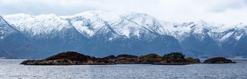 Isola panoramica Immagini Stock