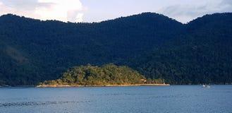 Isola in Paraty immagine stock