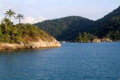 Isola in Paraty fotografie stock libere da diritti