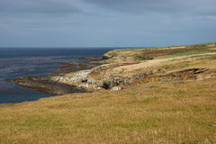 Isola più brulla Fotografie Stock Libere da Diritti