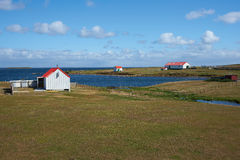 Isola più brulla Fotografie Stock