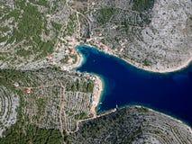 Isola Primosten Fotografia Stock Libera da Diritti
