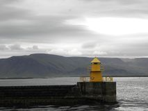 Isola - Reykjavik - faro Fotografia Stock