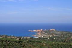 Isola Rossa, Sardinia, Italy Stock Image