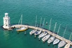 Isola San Giorgio Maggiore em Veneza Imagem de Stock Royalty Free