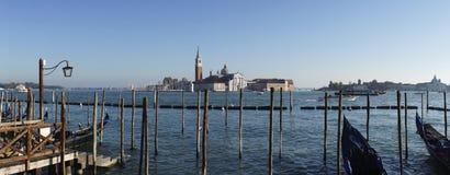 Isola San Giorgio Maggiore, Venetië stock foto's