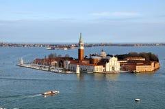 Isola San Giorgio Maggiore in Venice Stock Photography