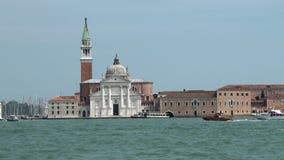 Isola San Giorgio, Venice stock video