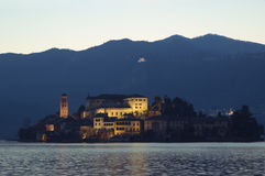 Isola San Giulio Royalty Free Stock Image