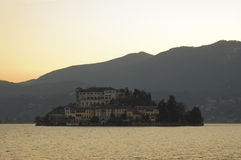 Isola San Giulio Royalty Free Stock Photo